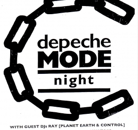 DEPECHE MODE NITE w/ Guest DJs Alex & Ray [from the Depeche Mode Convention]